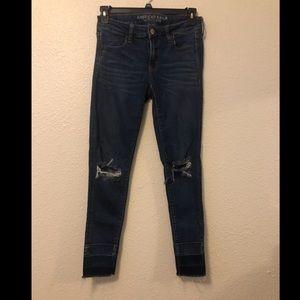 American Eagle jegging jeans sz 8